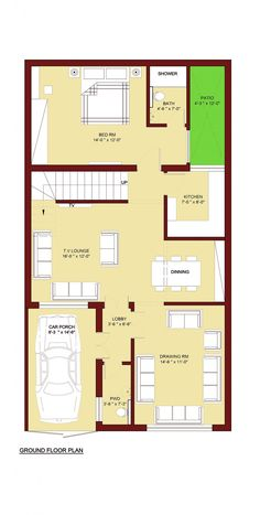 236x467 best marla house plan images marla house plan, house