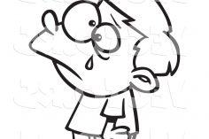 236x157 Cartoon Boy Drawing Step