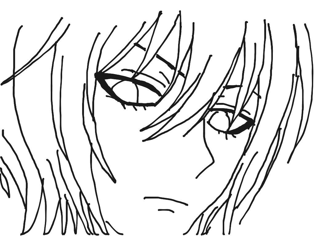 1024x768 Easy To Draw Animes Easy To Draw Anime Boy Drawing Artsy