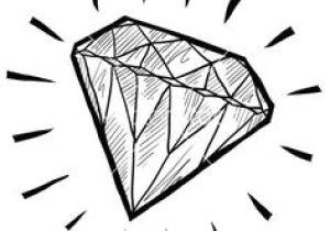 300x210 drawings easy diamond best diamond doodle images doodles doodle