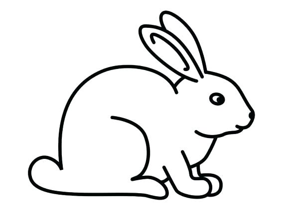 580x435 easy easter bunny to draw bunny step how to draw easter bunny