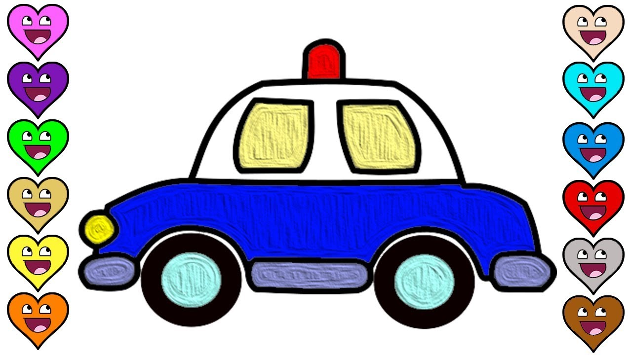 Easy Car Drawing For Kid Free Download Best Easy Car Drawing For