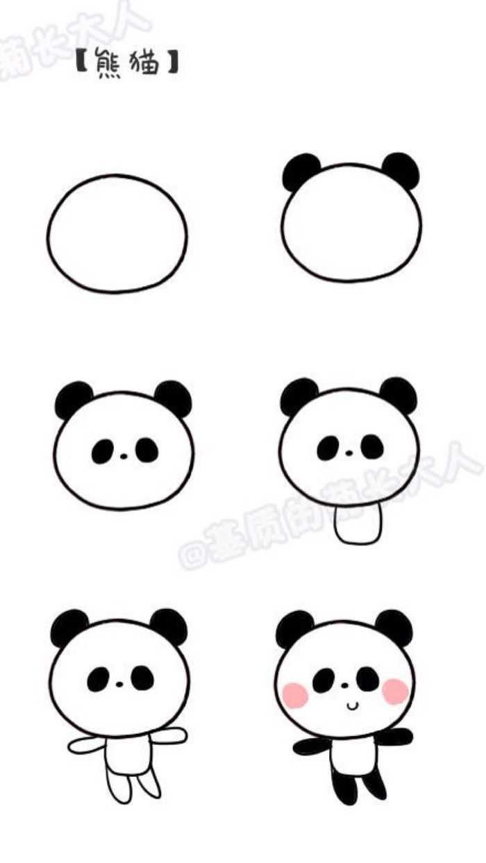 700x1243 Easy Cartoon Drawings Group With Items