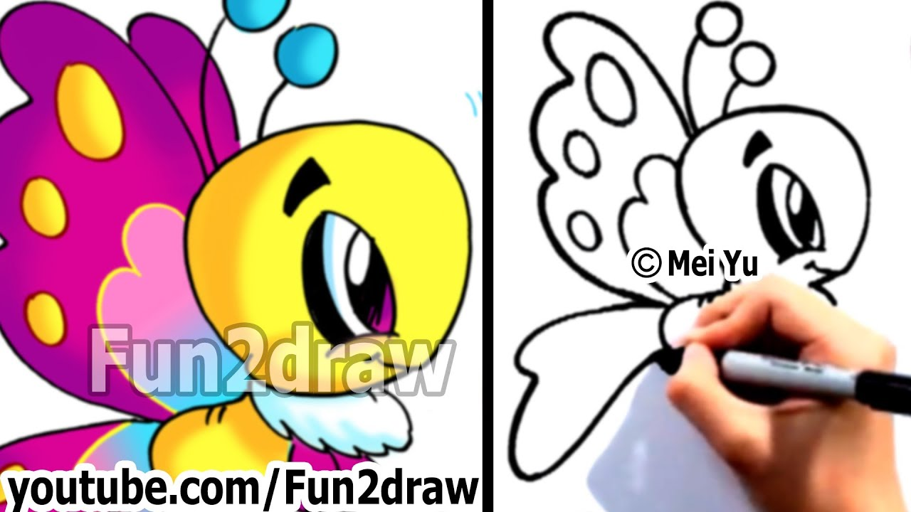 1280x720 How To Draw Cartoons Easy