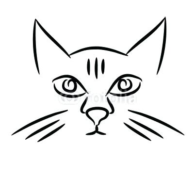 400x400 Easy Drawing Of Cat Cactus Drawing Easy Step