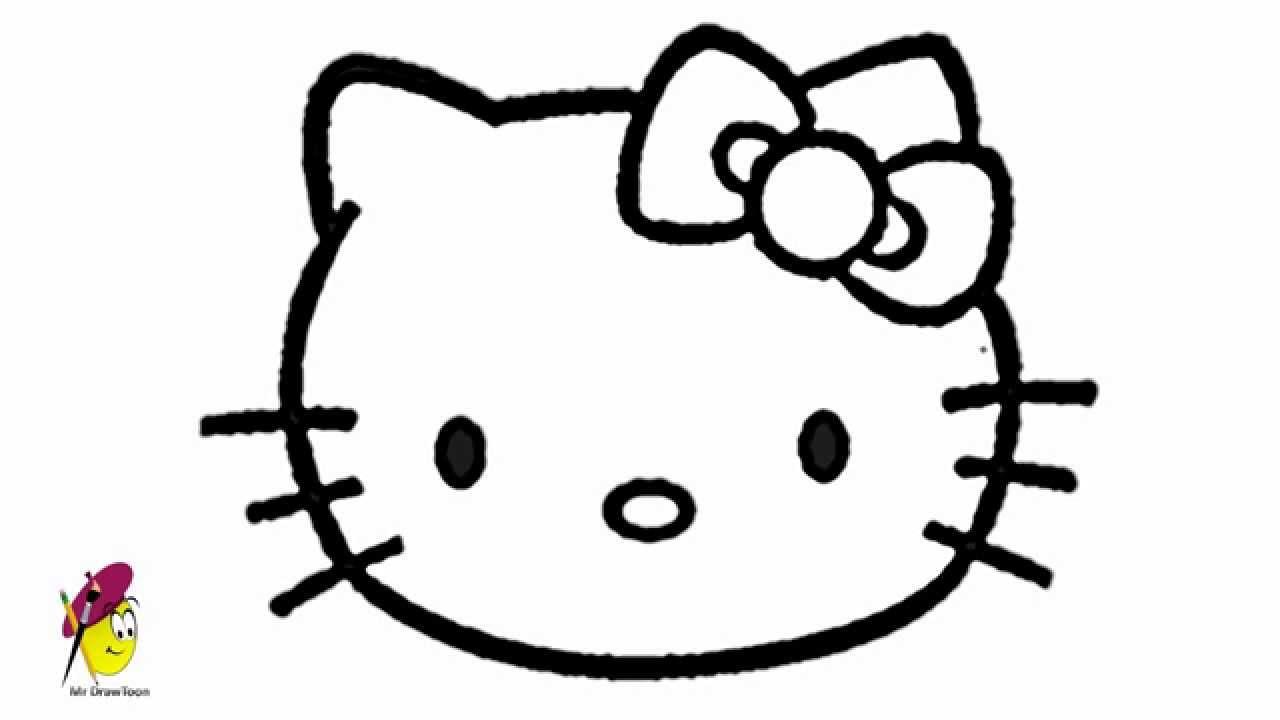 1280x720 Face Hello Kitty