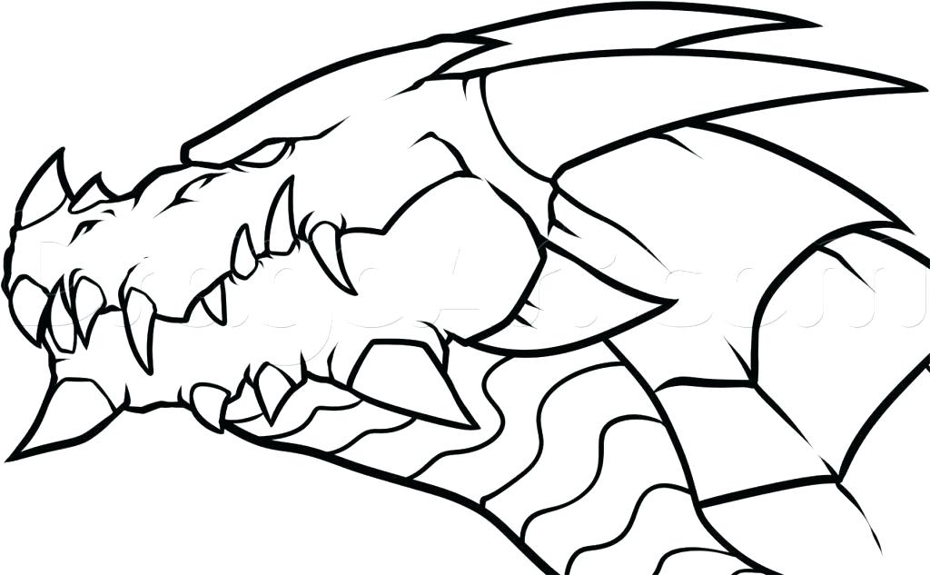 1024x633 How Do You Draw A Dragon Easy Download
