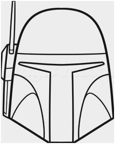 236x295 Jango Fett Coloring Pages Elegant Easy To Draw Star Wars