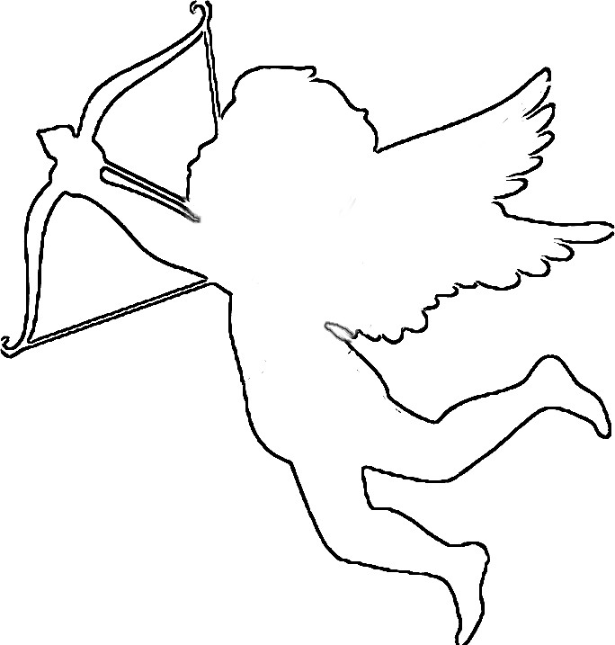 Easy Cupid Drawing