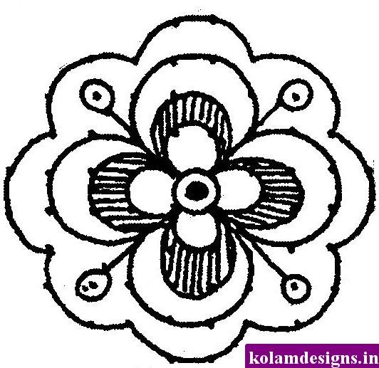 532x517 Cute Flower Designs Draw Imgkid