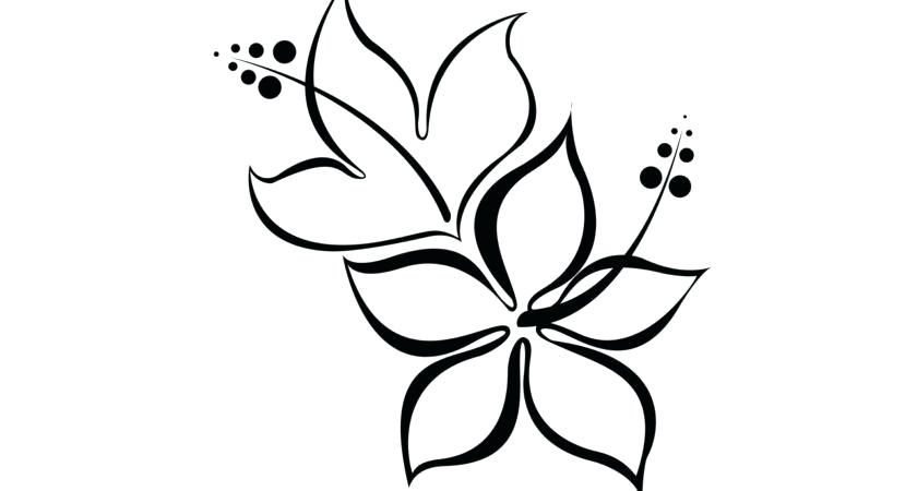 840x450 Simple Easy Flowers To Draw Appealing Easy Flower Coloring Pages