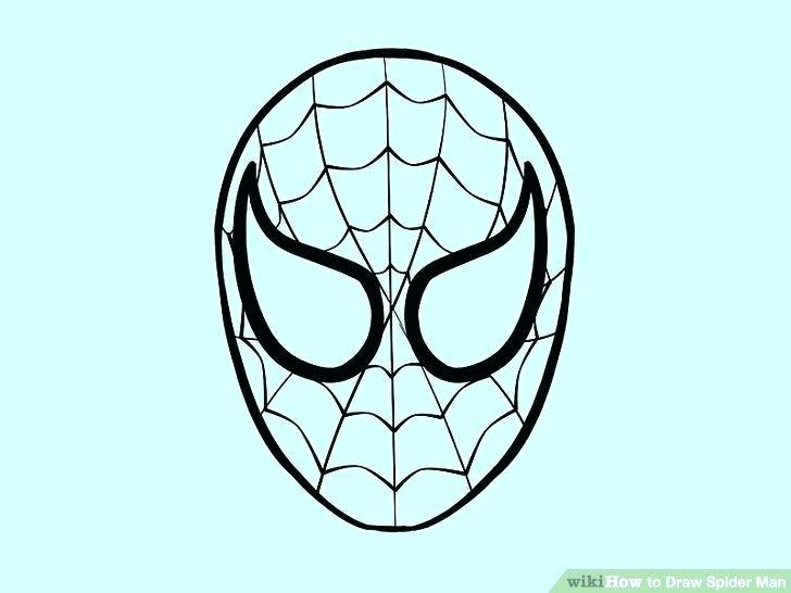 728x546 Easy To Draw Spider Spider Drawing Easy How To Draw A Superhero