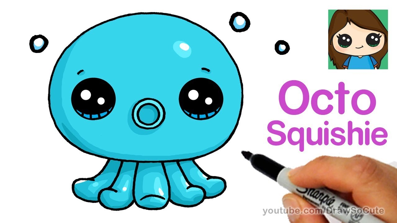 1280x720 How To Draw An Octopus Easy Octo Squishies