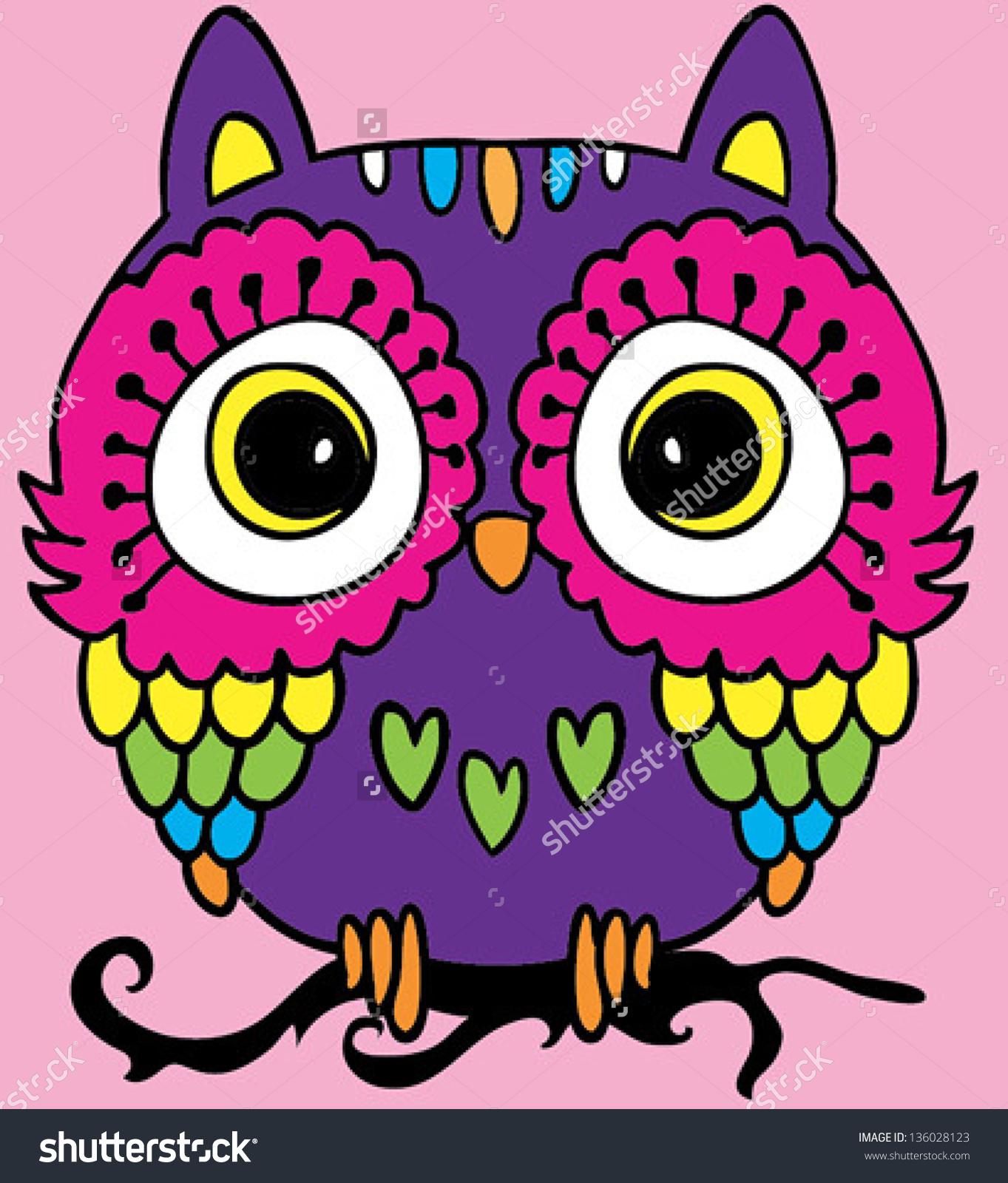Easy Cute Owl Drawing