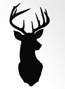 219x300 awesome deer head silhouette images deer, deer head