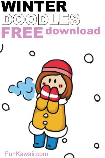 Easy Drawing Of Winter Season | Free download best Easy