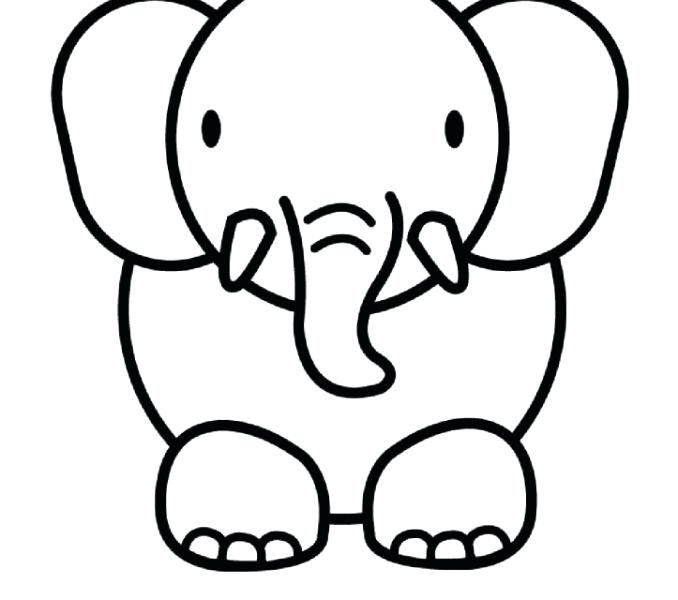 678x600 Drawing Easy Animals Cute Easy Coloring Pages Coloring Pages Draw