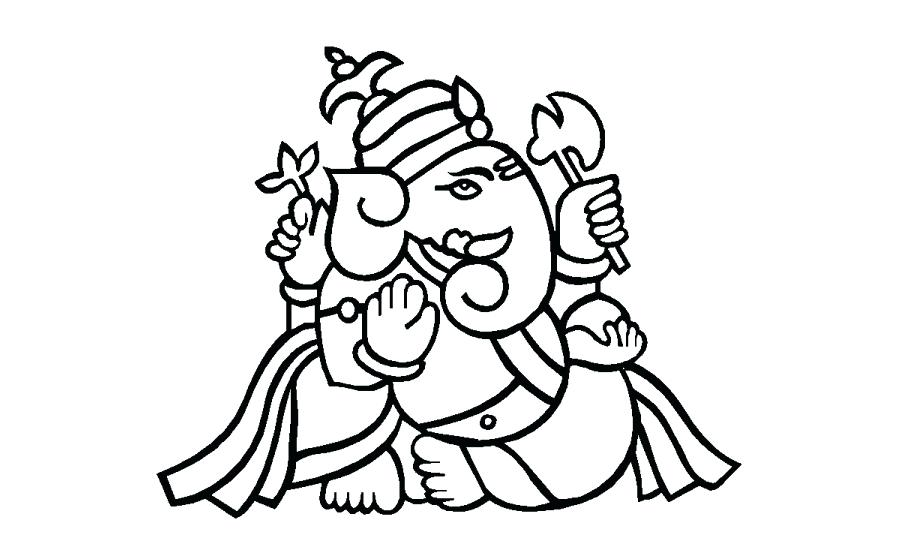 900x560 Cute Ganesha Coloring Pages Easy Sheets Crocodile