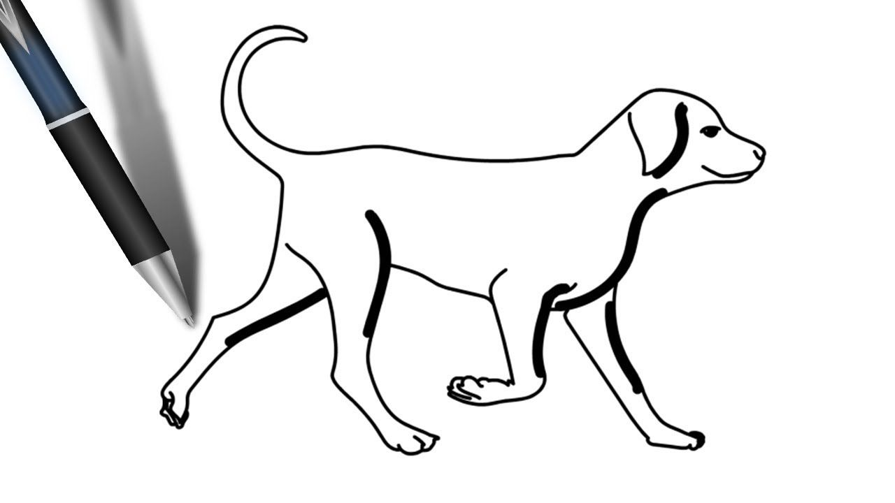 Easy Drawing Pictures Of Dogs Free Download Best Easy Drawing