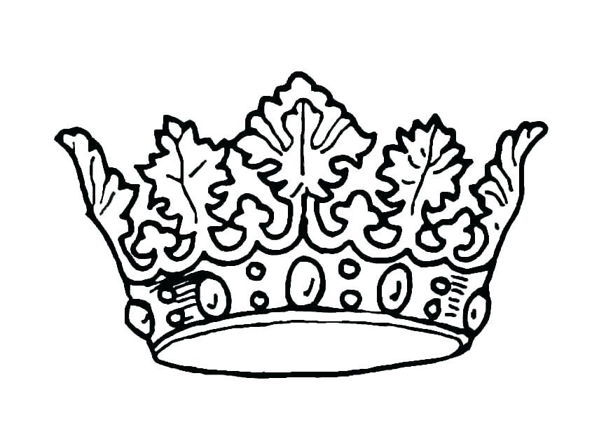 875x620 Easy Princess Crown Drawing