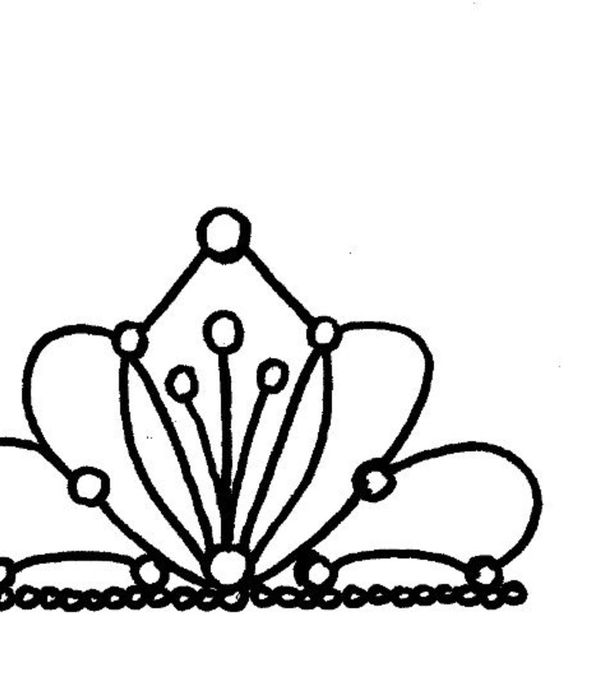 600x700 Crown Drawing Cake For Free Download