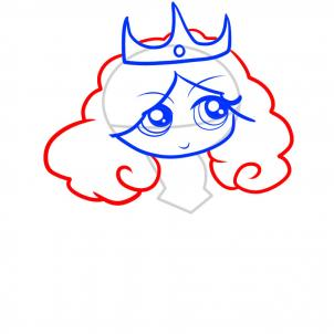 302x302 How To Draw How To Draw A Princess For Kids