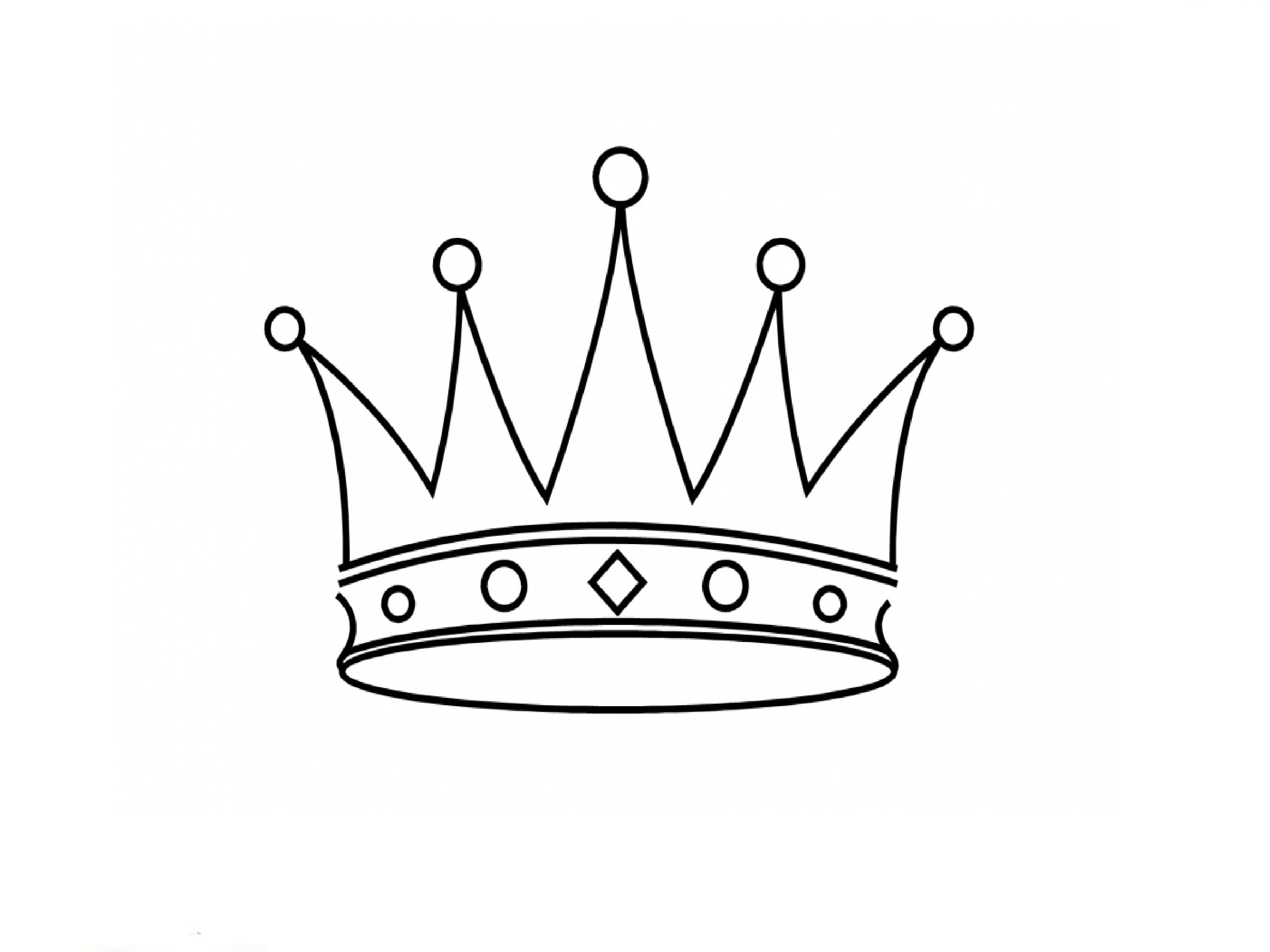 2592x1944 Crown Drawing Free Download
