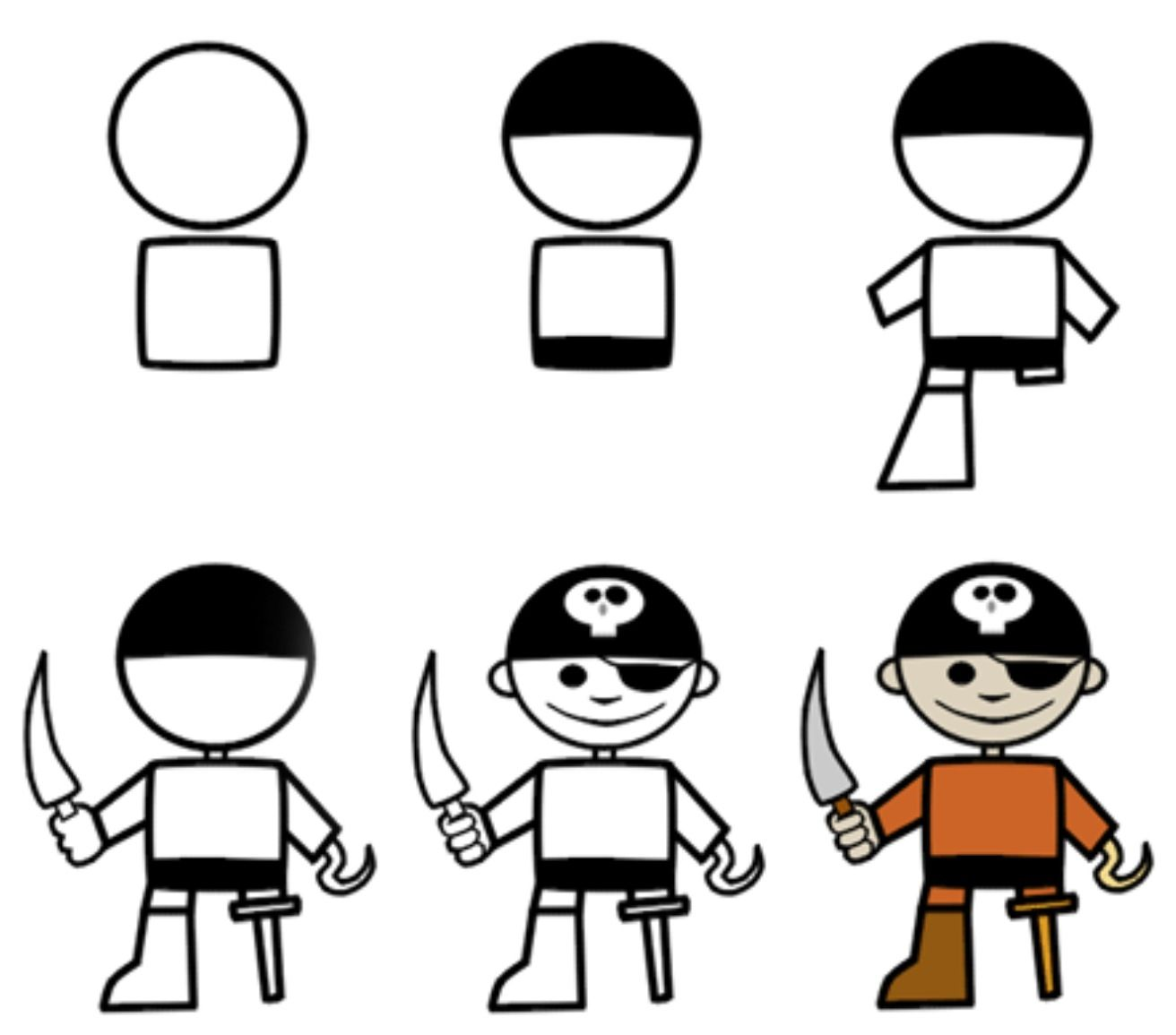 1312x1155 How To Draw A Pirate Pirates! In Cartoon Drawings
