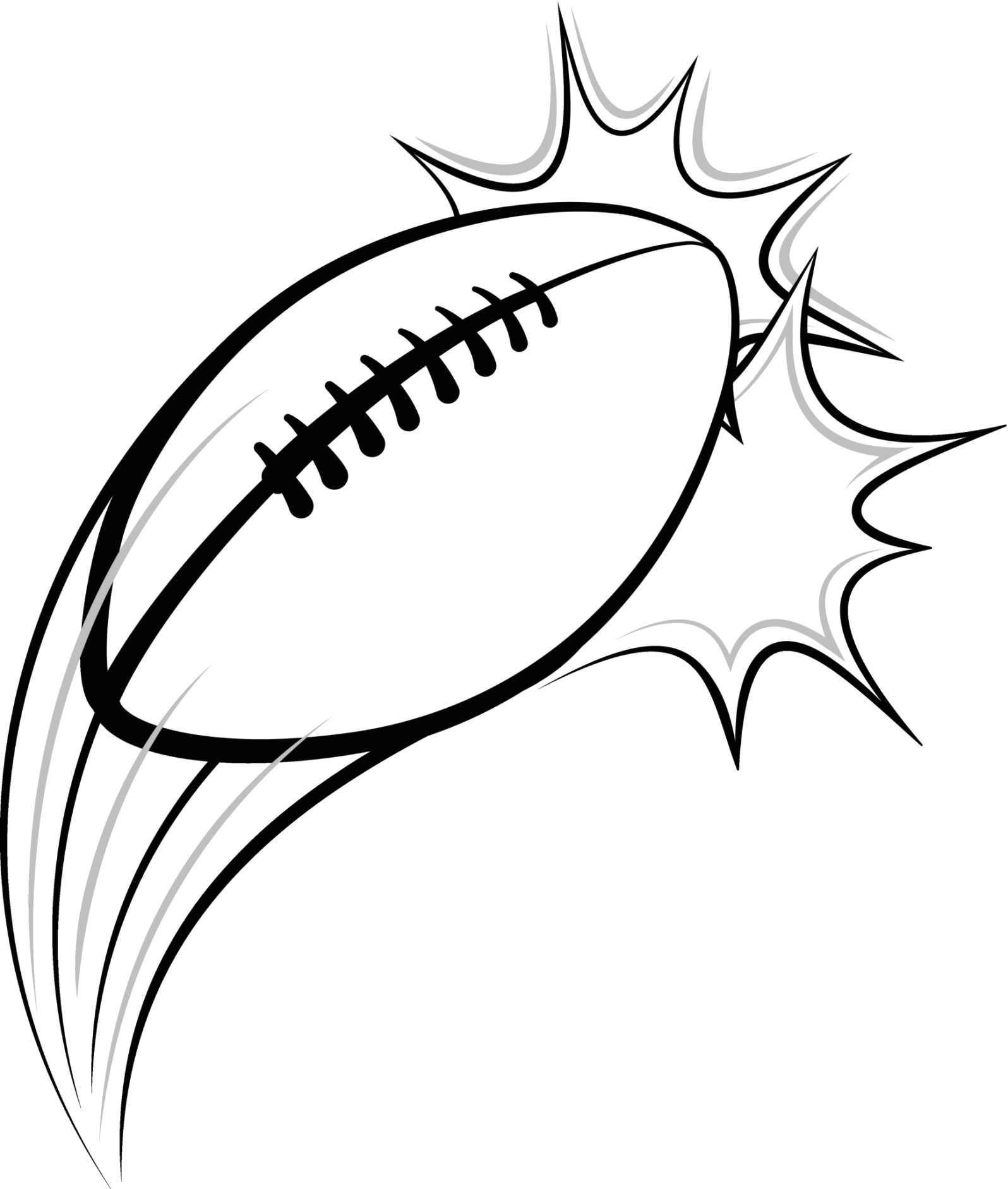 1596x1883 Football Drawing Easy For Free Download