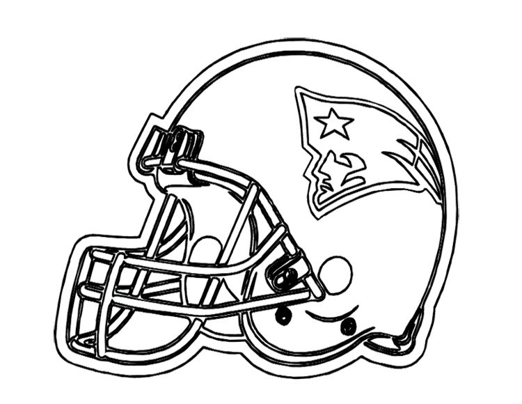 750x580 Kids Patriots Helmet Football Helmet Coloring Pages Football