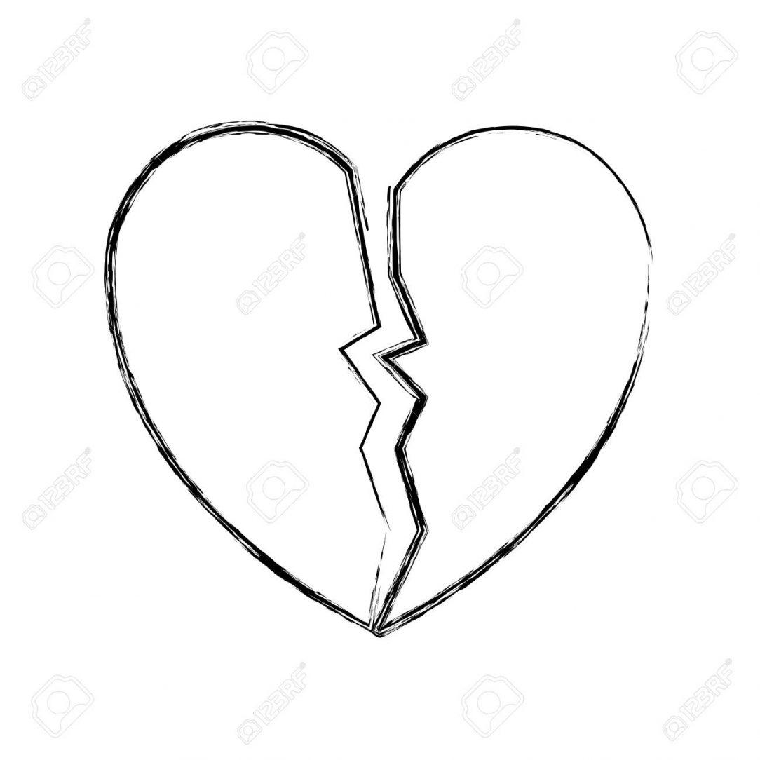 1084x1084 a broken heart drawings best simple step