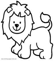 Easy Lion Drawing For Kids