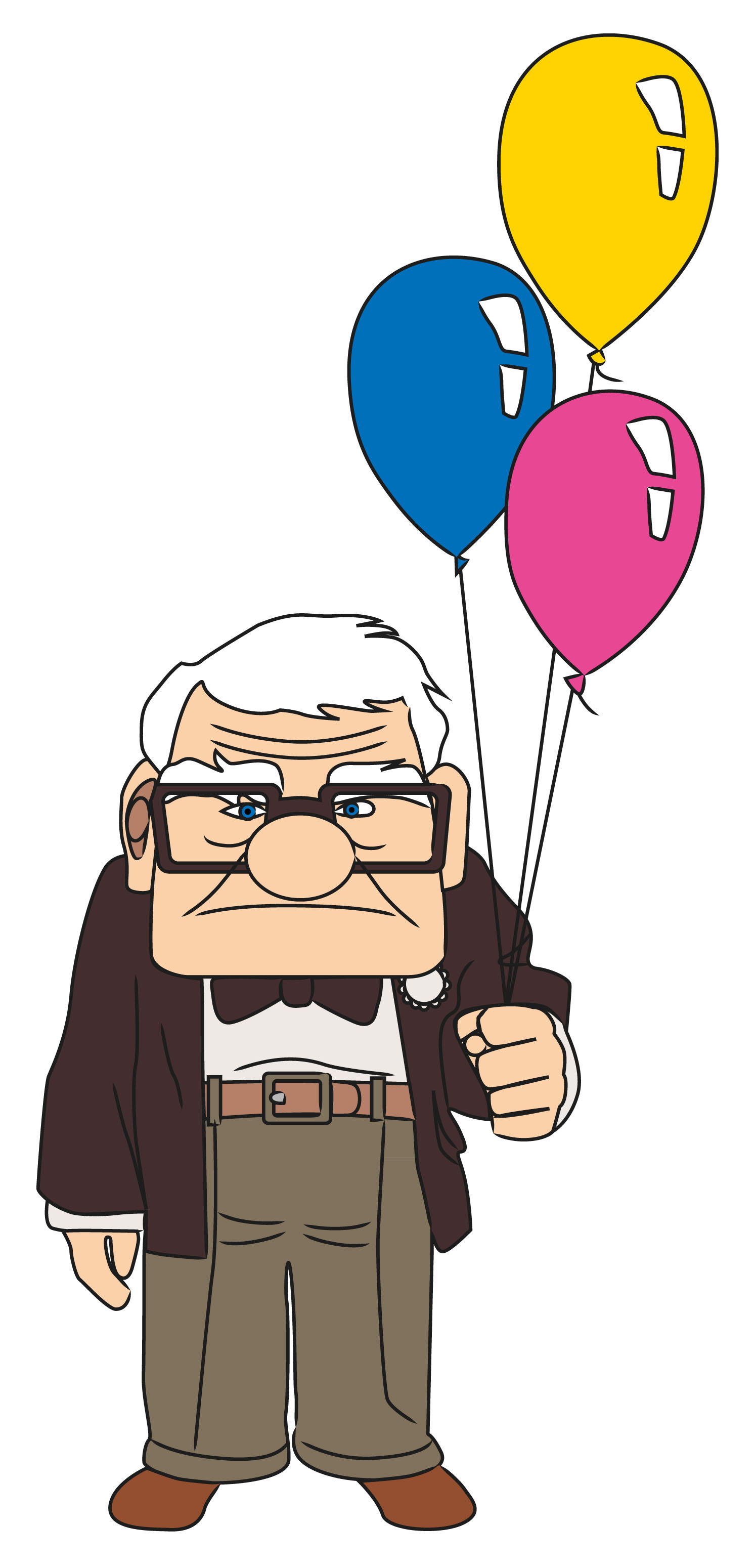 1493x3099 How To Draw Carl From Up Steps