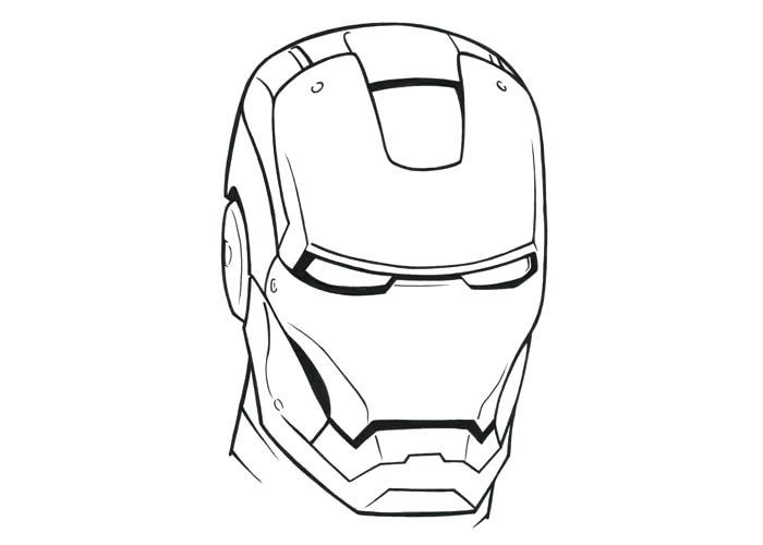 700x500 Iron Man Drawing Pencil