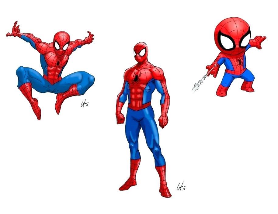 914x706 Spiderman Drawings Easy Drawing More Spider Man Cartoon Easy