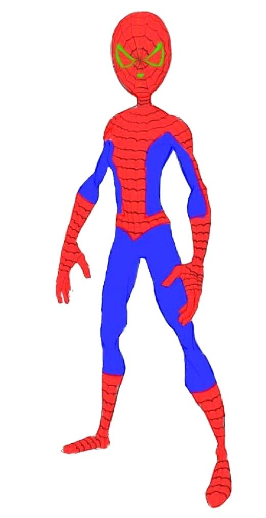 520x1014 The Amazing Spiderman Drawing Easy Drawings Gallery Spiderman