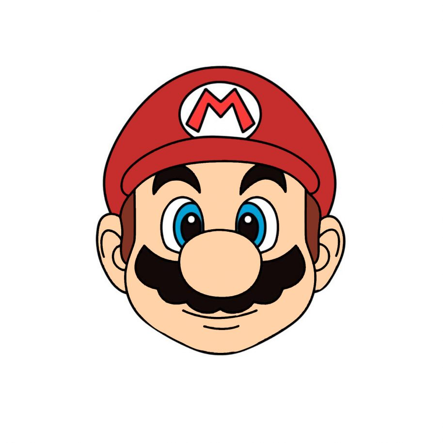 Easy Mario Drawing