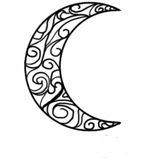320x320 Hd How To Draw Crescent Moon