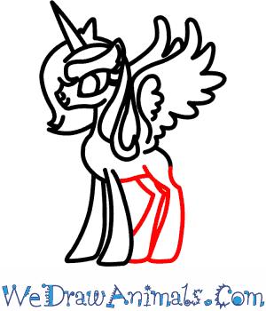 300x350 How To Draw Princess Luna From My Little Pony