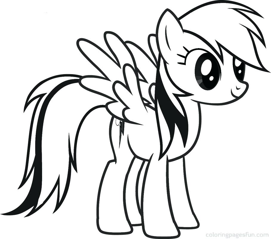 908x800 My Little Pony To Draw Easy Coloring Pages To Draw Coloring Pages