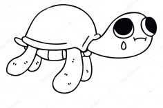 236x157 Cartoon Ninja Turtle Drawing Simple Of Easy Carmi Chaelinn