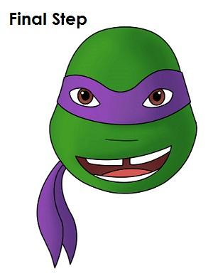 300x388 How To Draw Donatello