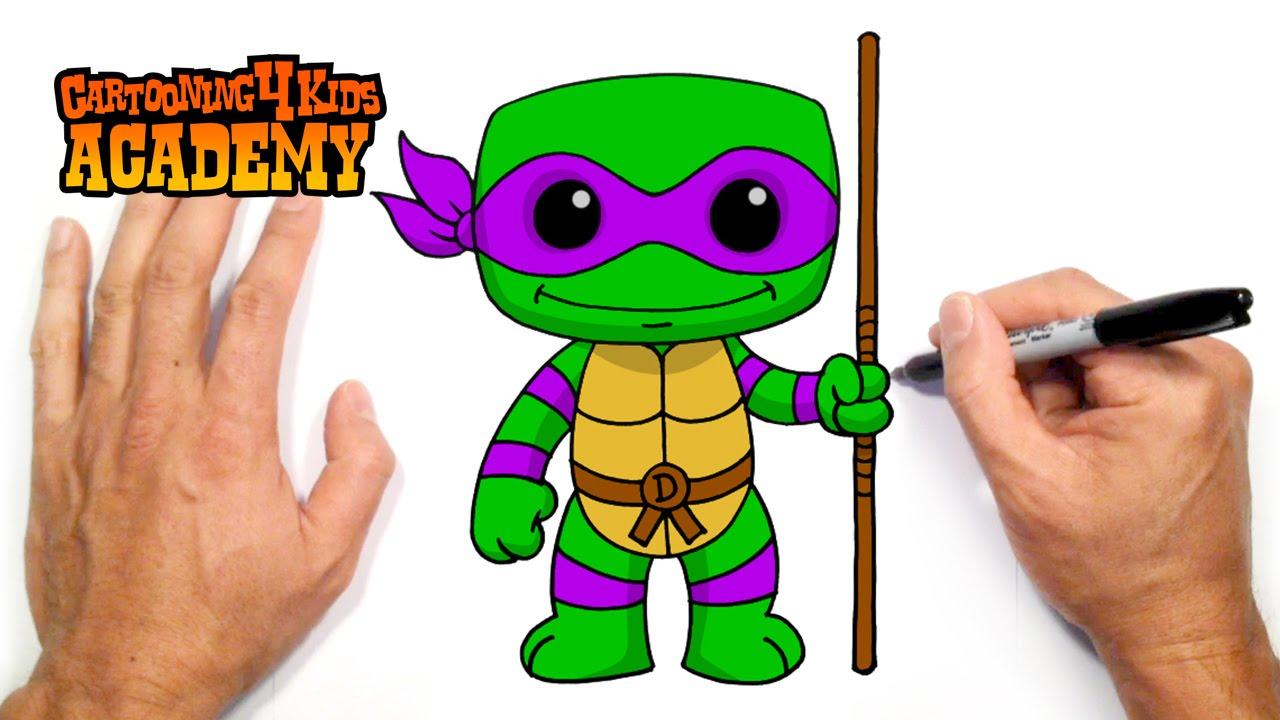 1280x720 How To Draw Donatello Tmnt