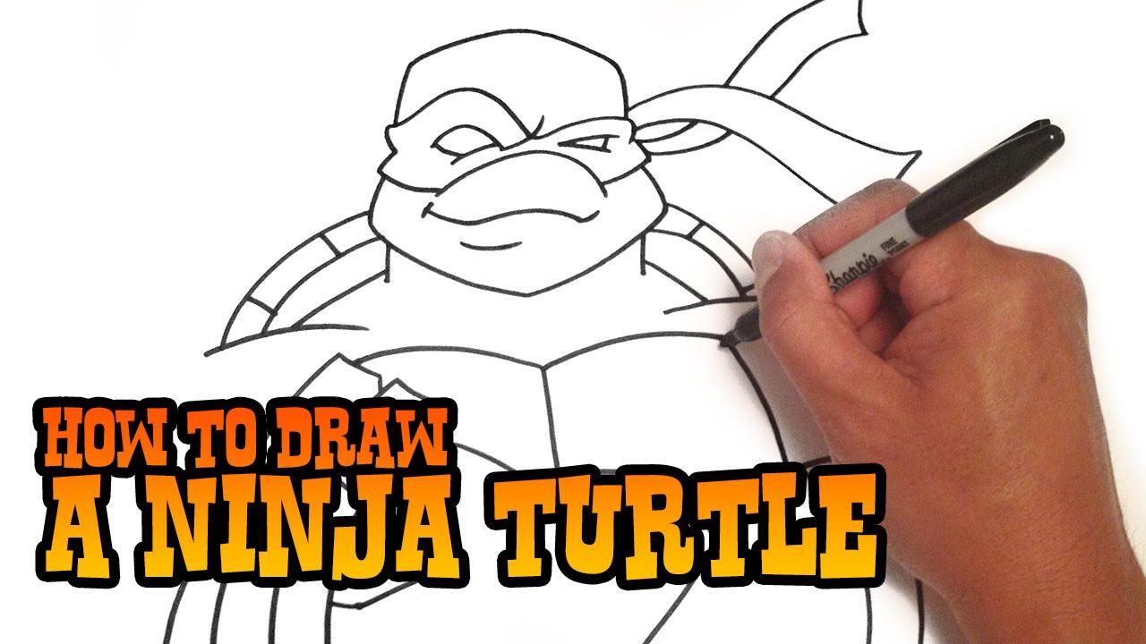 1280x720 How To Draw A Teenage Mutant Ninja Turtle
