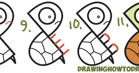471x250 Easy Turtle Drawing Step