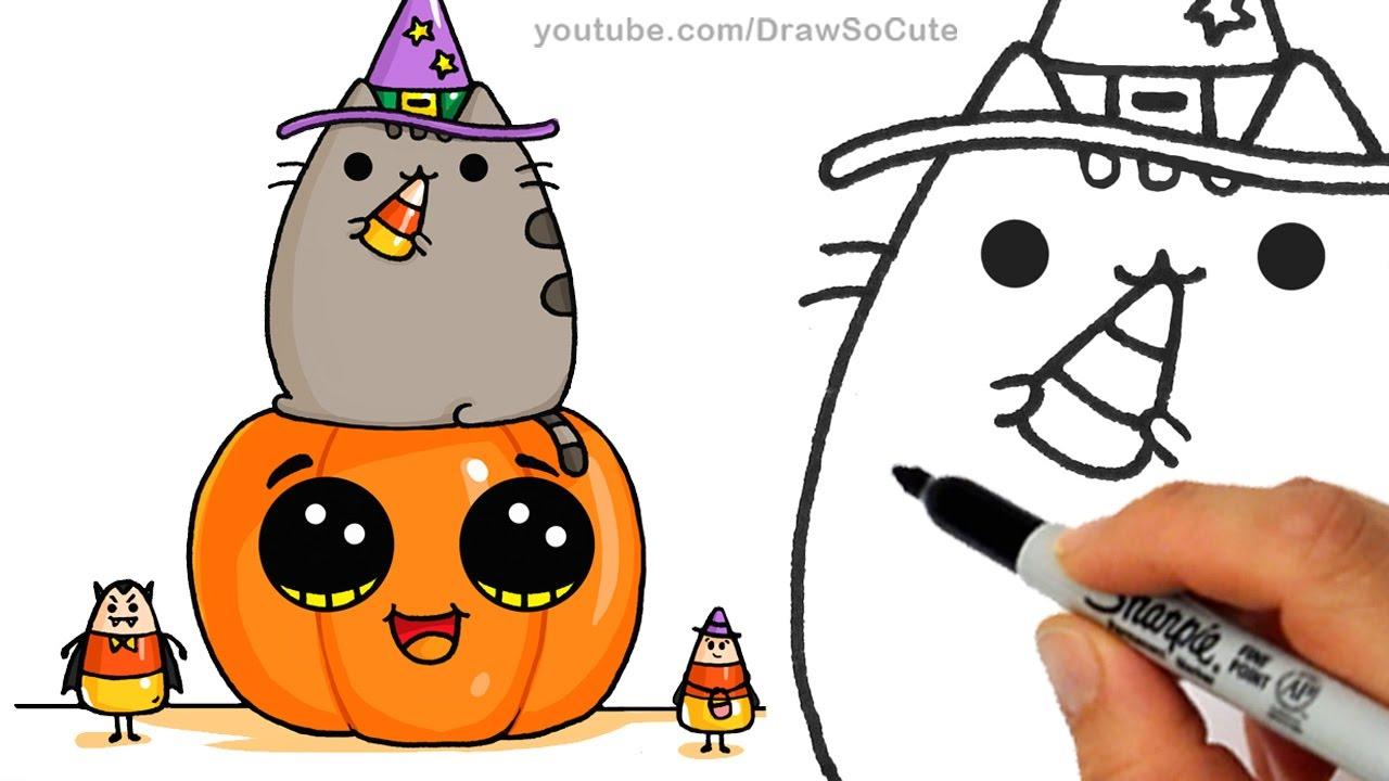 Halloween Pumpkin Drawing.Easy Pumpkin Drawing Free Download Best Easy Pumpkin