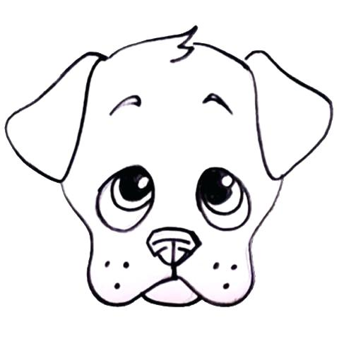 480x480 how to draw puppy dog how to draw a cute puppy dog