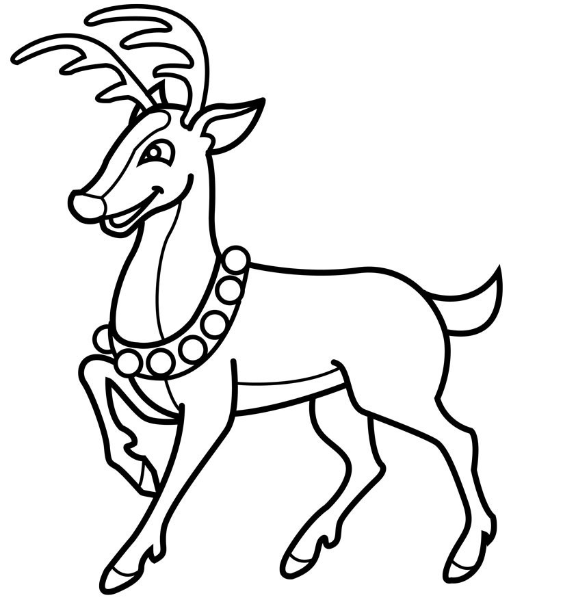 842x877 rudolph the red nosed reindeer drawing rudolph the red nosed