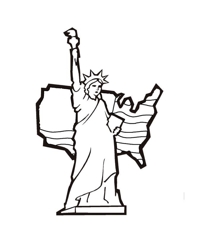 Collection of Statue of liberty clipart | Free download ...