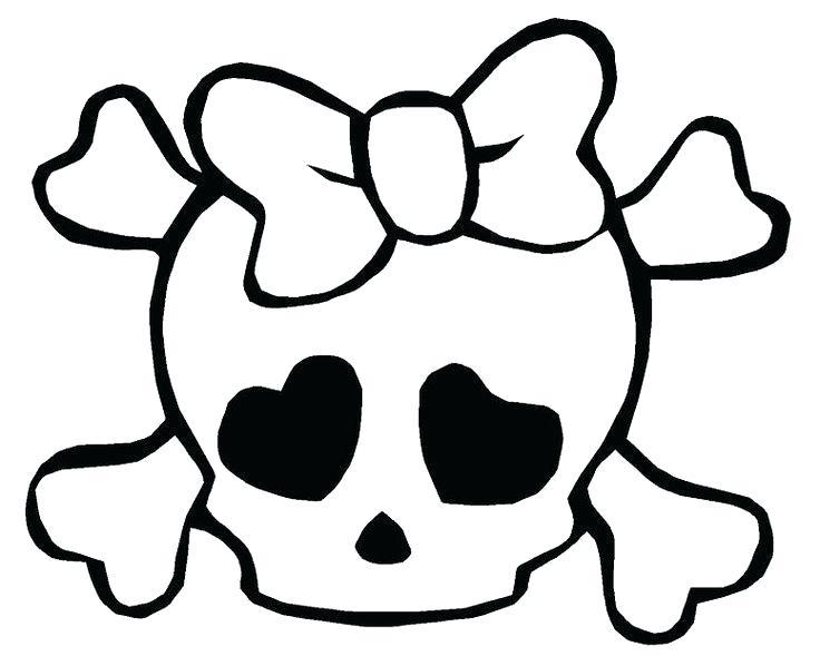 736x589 Easy To Draw Skulls Skull Drawings Things I Wanna Draw Drawings
